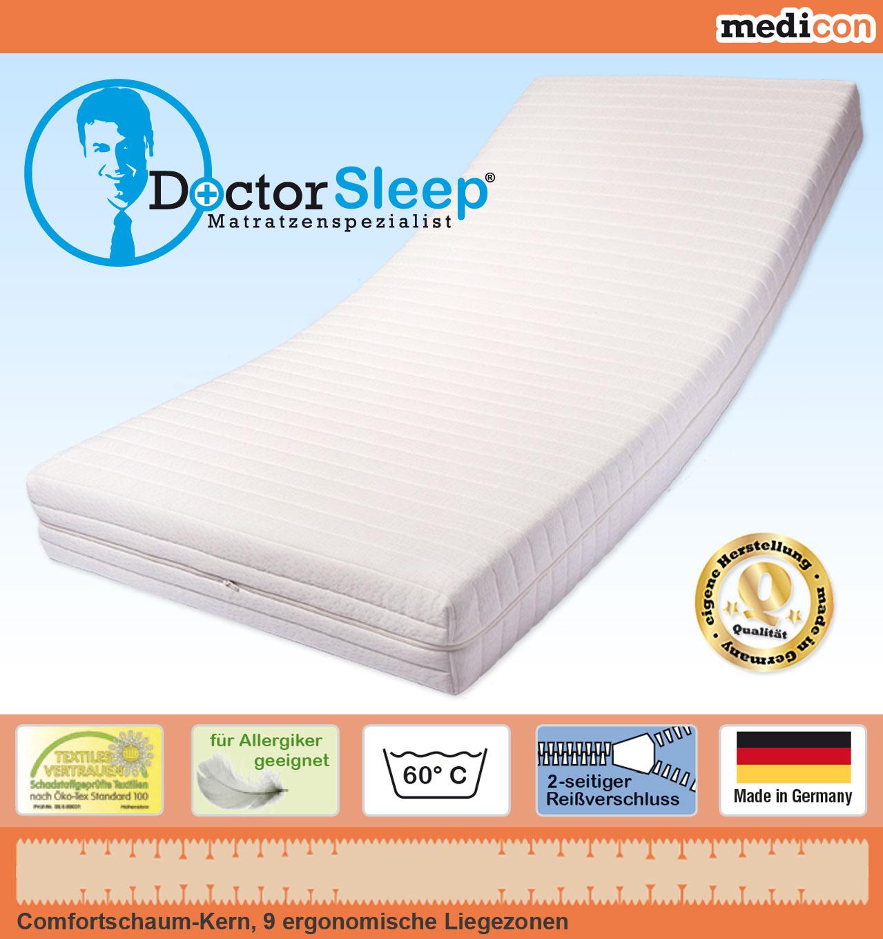 medicon 9 zonen comfortschaum kern matratze g nstig online kaufen. Black Bedroom Furniture Sets. Home Design Ideas